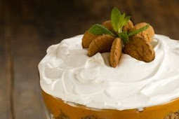 Pumpkin Gingerbread Trifle