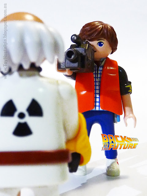 Playmobil Volver al Futuro Doc Brown Marty McFly
