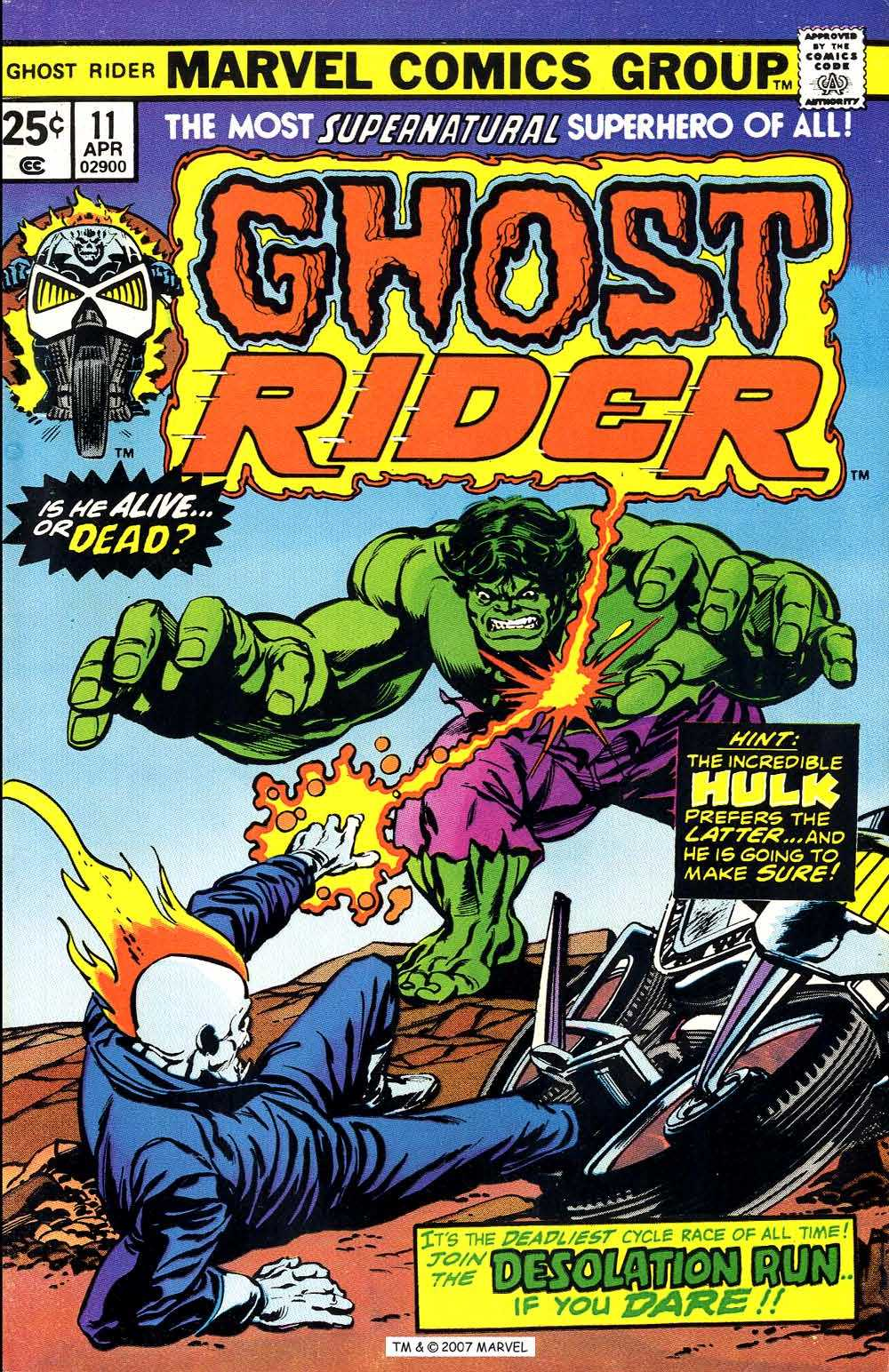 Ghost Rider (1973) Issue #11 #11 - English 1