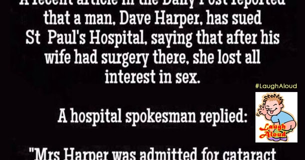 No sex after surgery