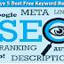 Blogger Ke Liye 5 Best Free Keyword Research Tools