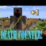 DeathCounter  Minecraft Hileleri 1.8 Death Counter Mod 1.7.2/1.6.4