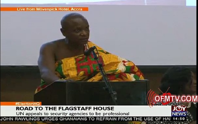 Road to Ghana's Flagstaff House - Watch Live TV