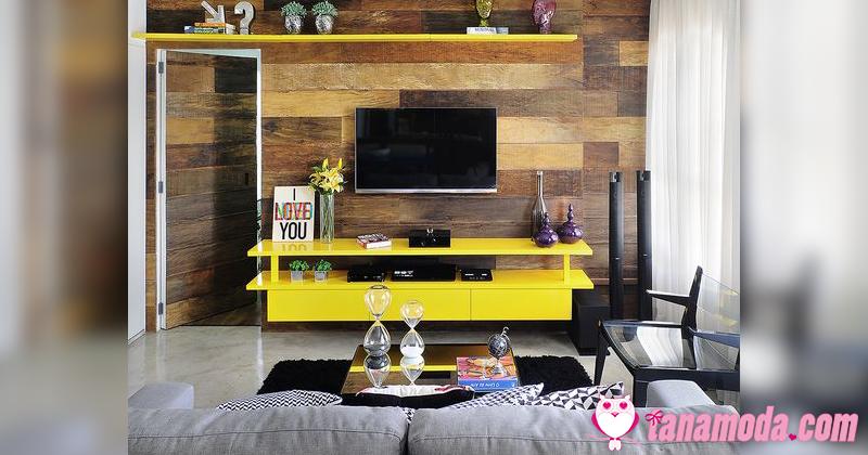 Como usar seu painel de TV na decoração