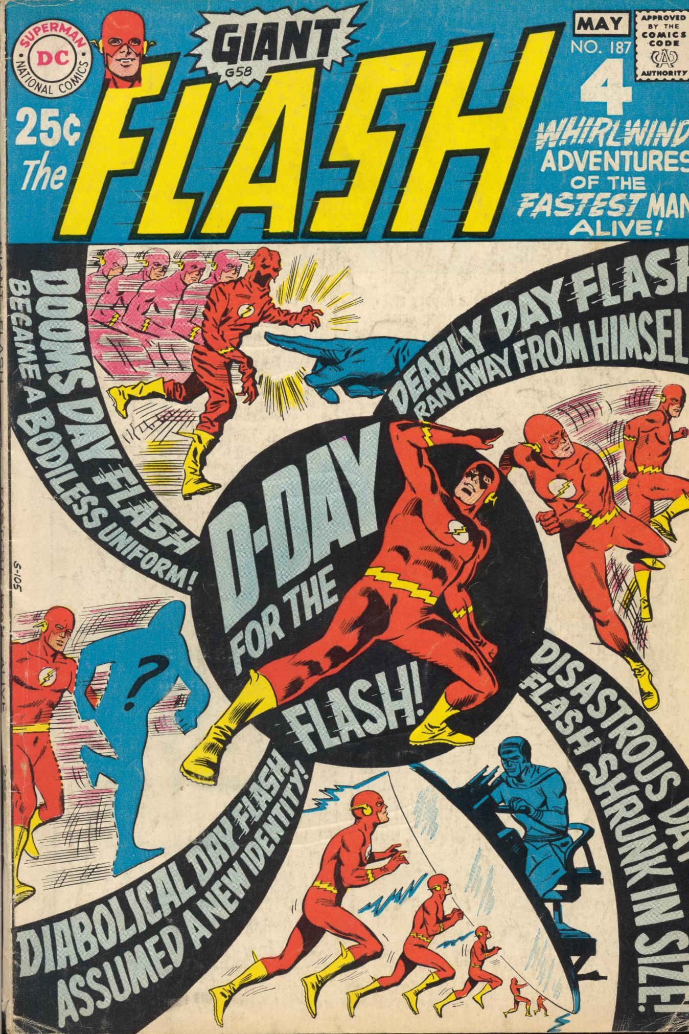 The Flash (1959) 187 Page 1
