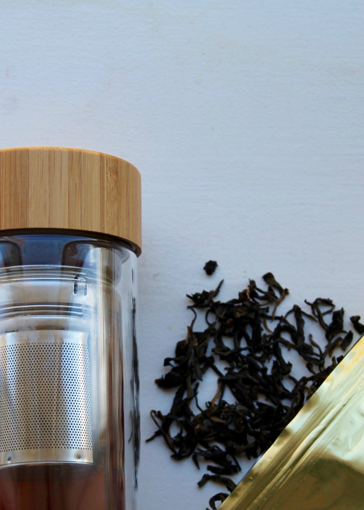 Fressko Tour Flask, great for detox water and detox teas or for carrying your smoothie