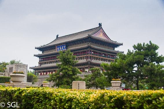 Torre del tambor. Xian, la ultima ciudad de la ruta de la seda