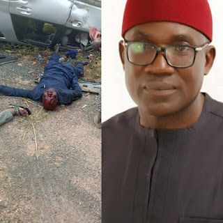 Cross River APC Chairman, Wife, 5 Others Die In Motor Accident (Graphic Photos)