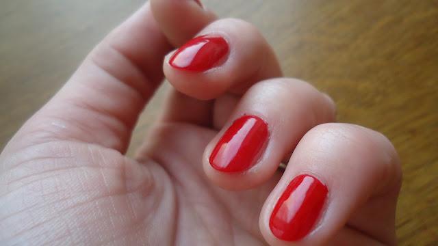 vernis rouge de bruyère