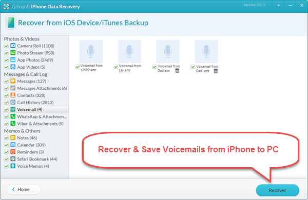 How To Download Voicemails From Iphone