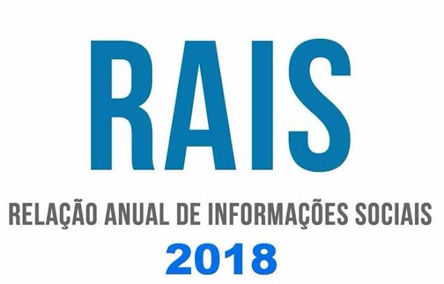 RAIS 2018: Ano-base 2017