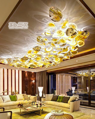 3d false ceiling designs