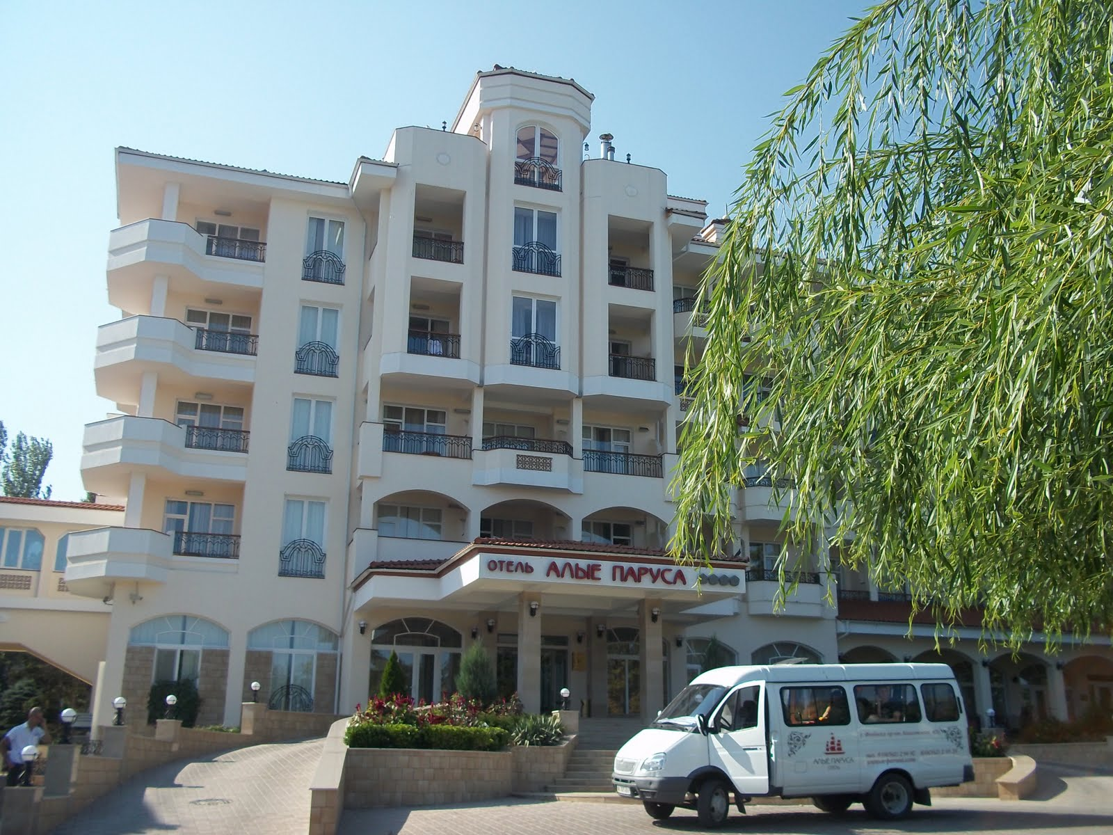 Hotels of Feodosia: a selection of sites