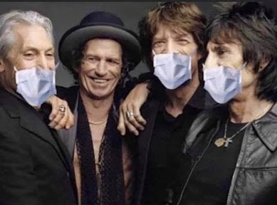 Coronavirus Cannot Touch Keith Richards