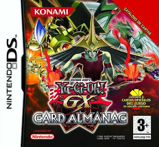 Yu-Gi-Oh! Duel Monster GX Card Almanac NDS, Español, Mega