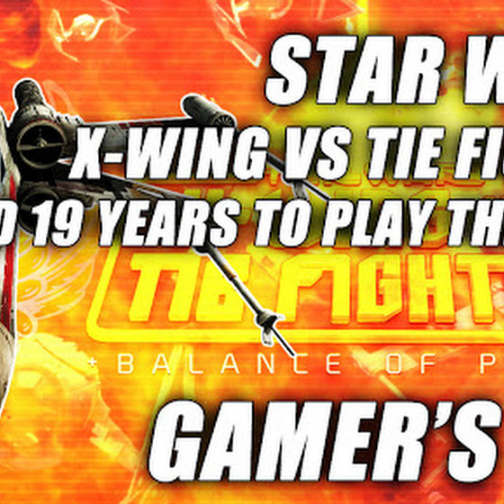 Star Wars X-Wing vs TIE Fighter ★ Waited 19 Years To Play This Game ★ Gamer's Log