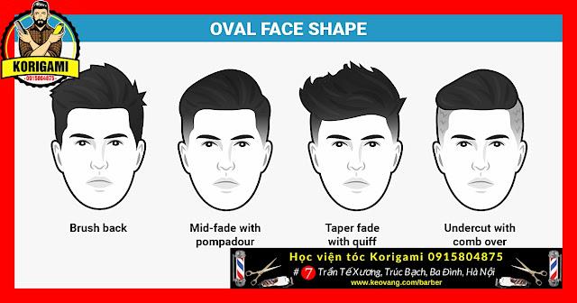 // OVAL FACE = GƯƠNG MẶT TRÁI XOAN //