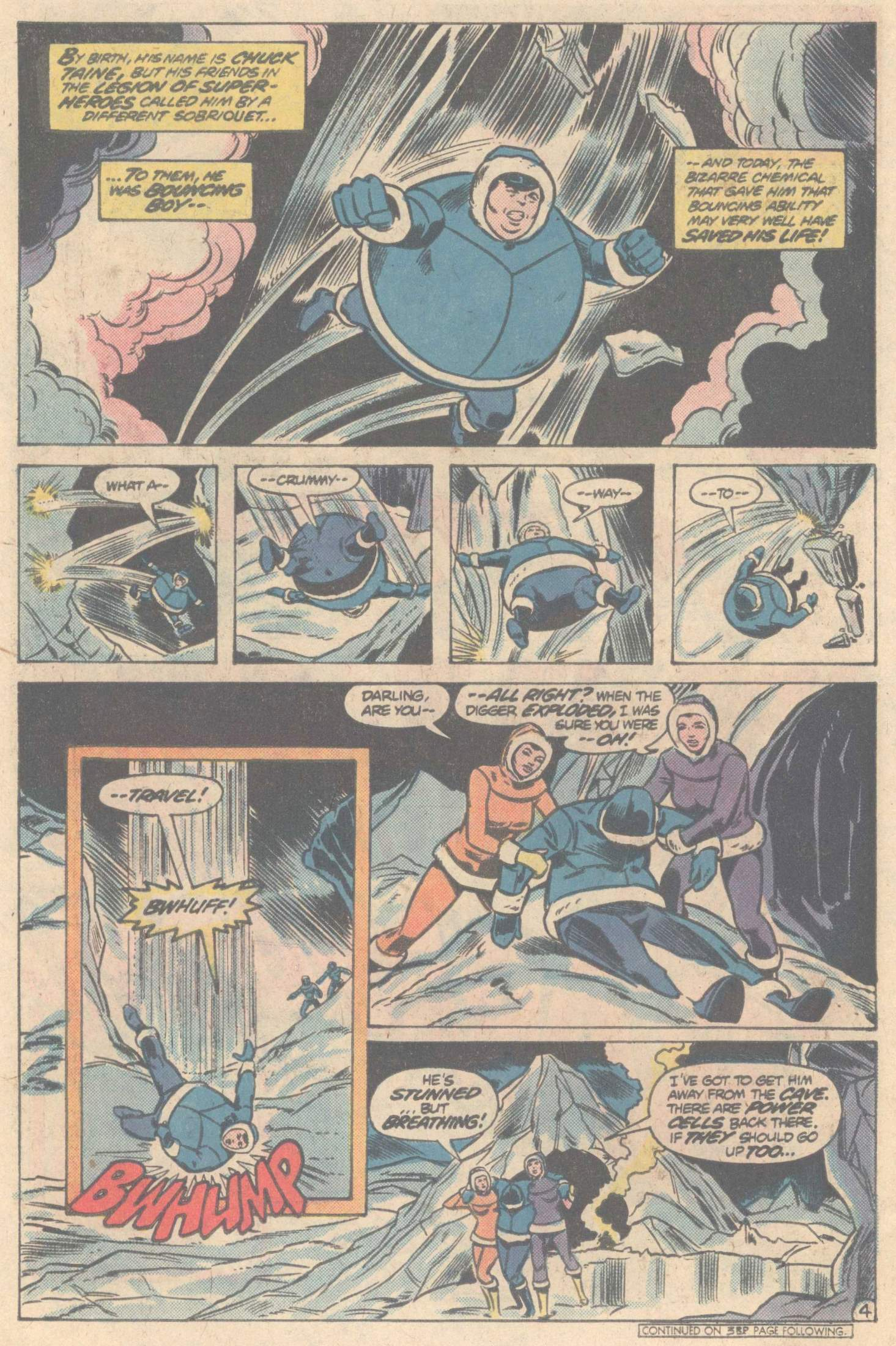Legion of Super-Heroes (1980) 266 Page 5