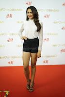 Pragya Jaiswal in lovely Black Mini Skirt and White Transparent Shirt ~  Exclusive 057.JPG