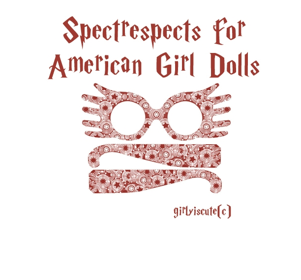 Doll Ponderings: Quick Harry Potter Stuff for Dolls!