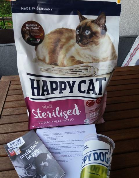 julani time to test happy cat sterilised katzen trockenfutter. Black Bedroom Furniture Sets. Home Design Ideas