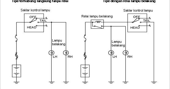 Wiring Diagram Lampu Kota