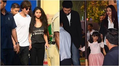 Abram-Aaradhya-annual-function-in-dhirubhai-international-school