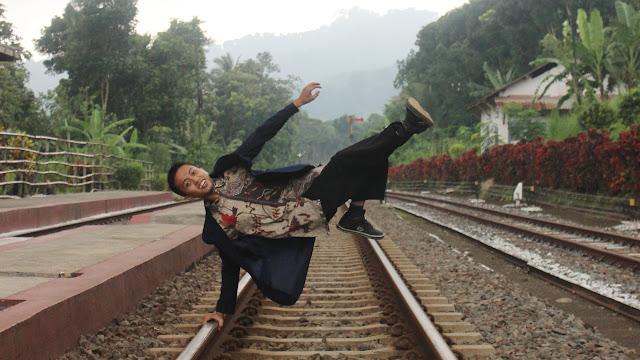 Foto Nur Kholis Mansur (Stasiun Garahan Tempat KKN)