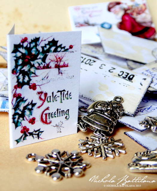 Fairy Christmas Cards, an alternative Advent calendar - Nichola Battilana