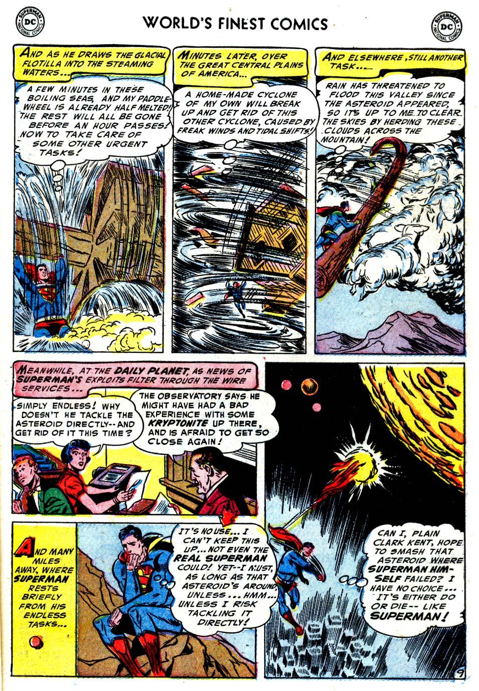 Read online World's Finest Comics comic -  Issue #68 - 11