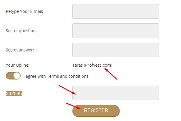 Регистрация в DigitalBit 2