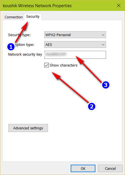 windows wifi security