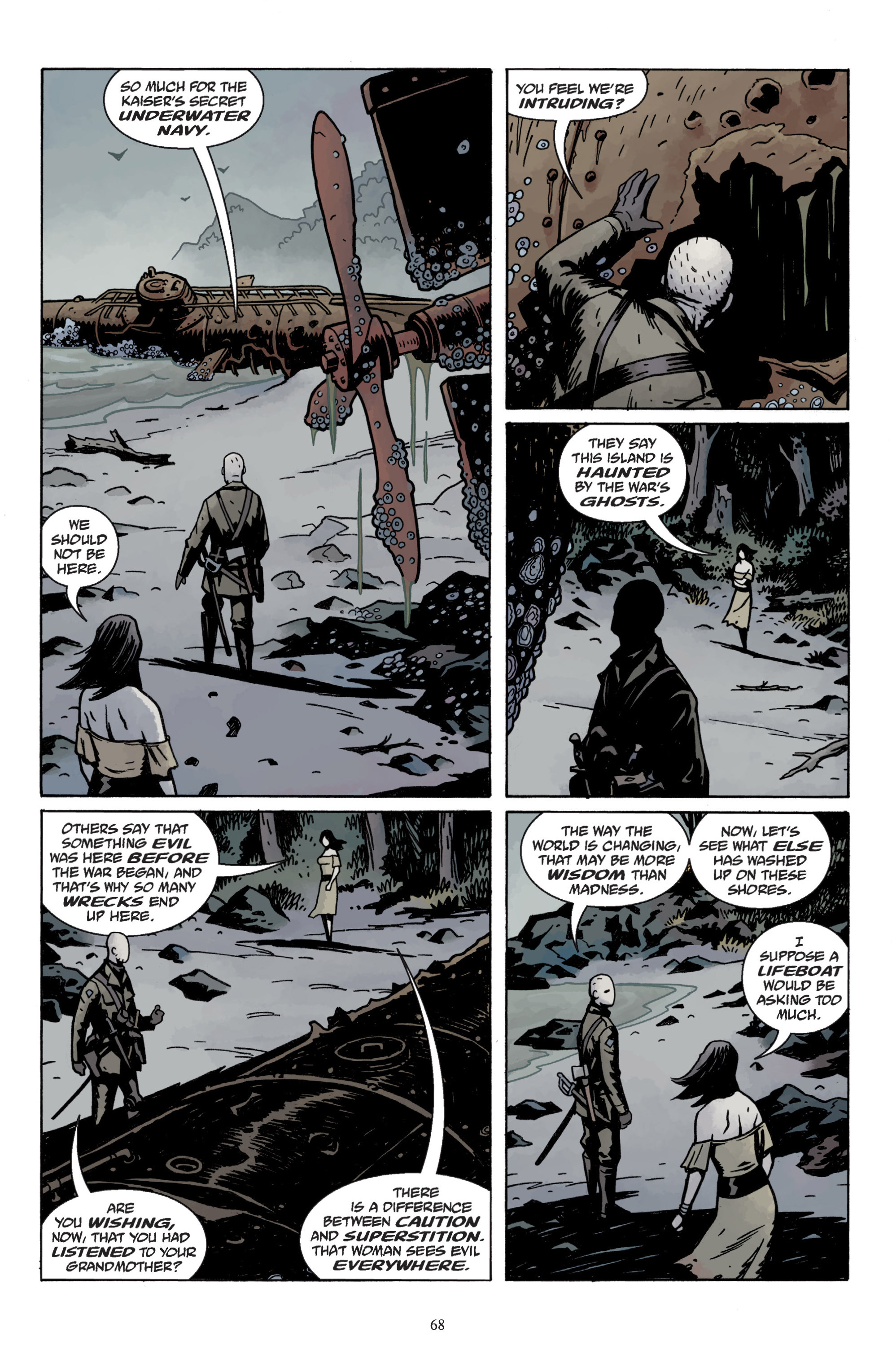 Read online Baltimore: The Plague Ships comic -  Issue # TPB - 70