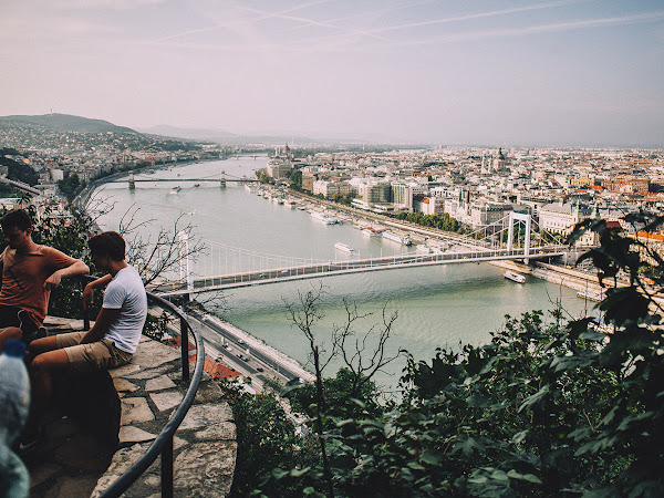 The most beautiful view of Budapest