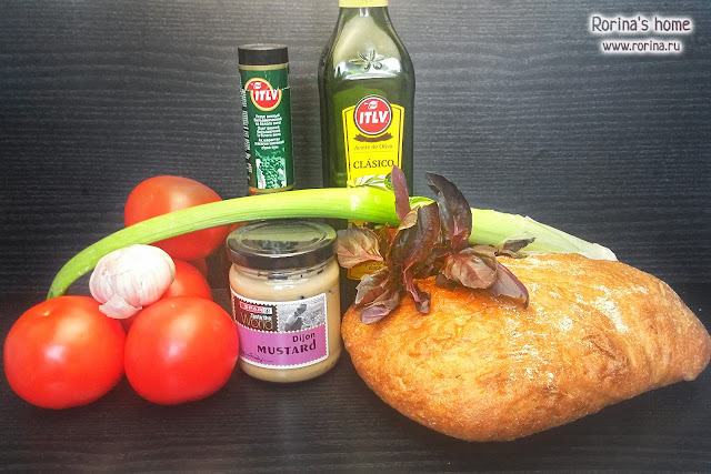 Ингредиенты для салата панцанелла
