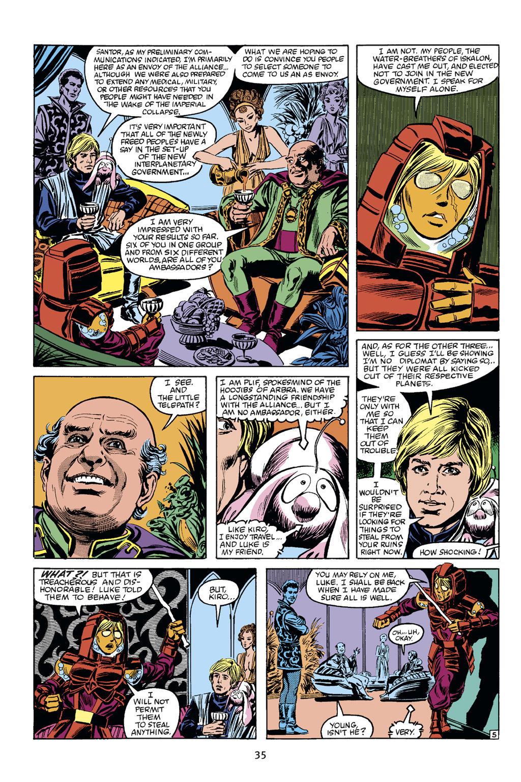 Read online Star Wars Omnibus comic -  Issue # Vol. 21 - 33
