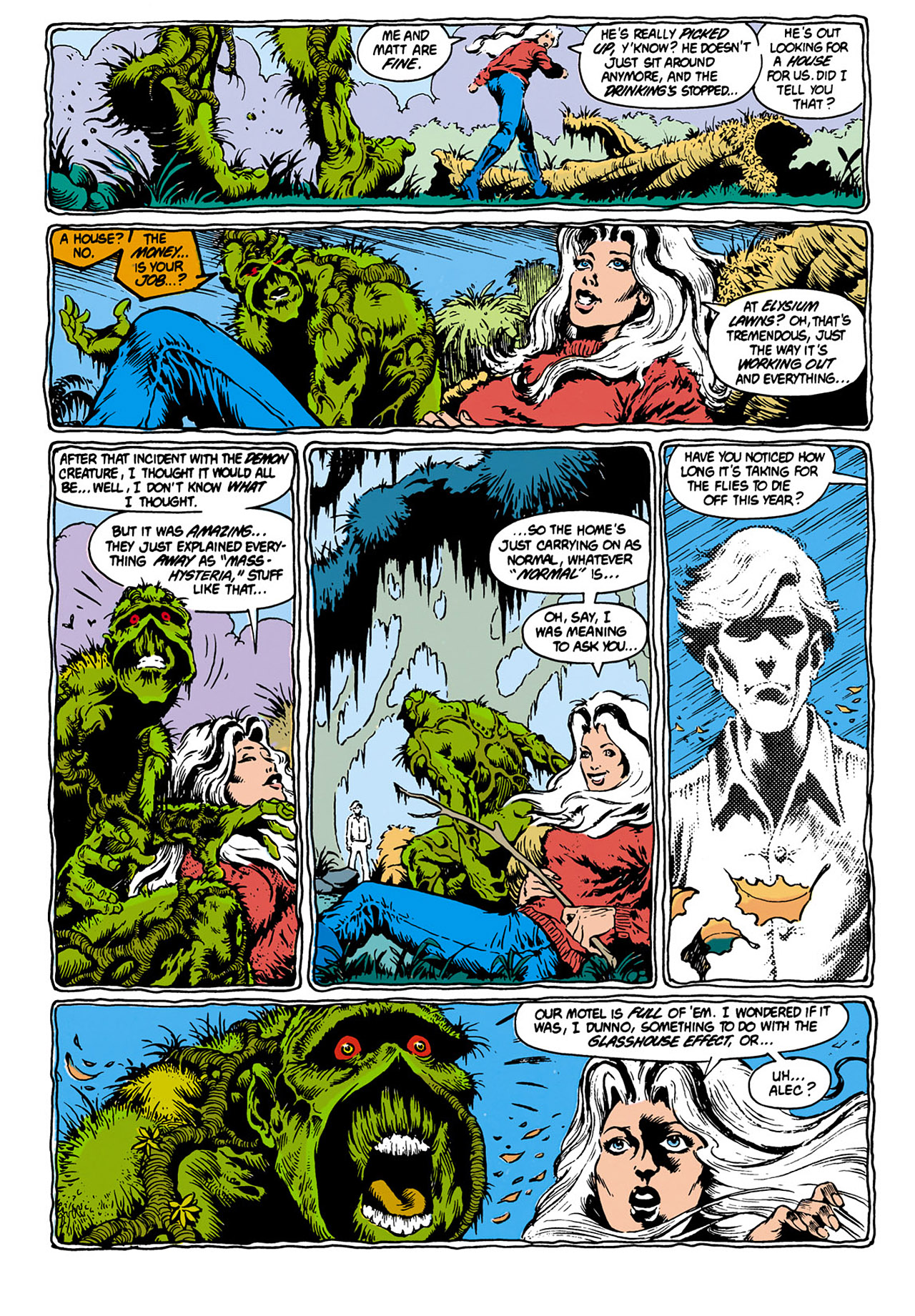 Swamp Thing (1982) Issue #28 #36 - English 5