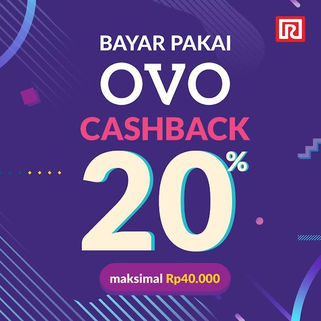 #Ramayana - #Promo Cashback 20% Maks 40K Bayar Pakai OVO