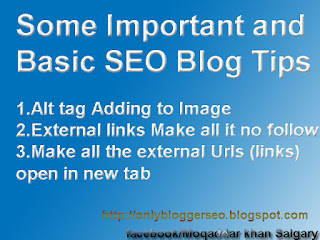 Some Important and Basic SEO Blog Tips