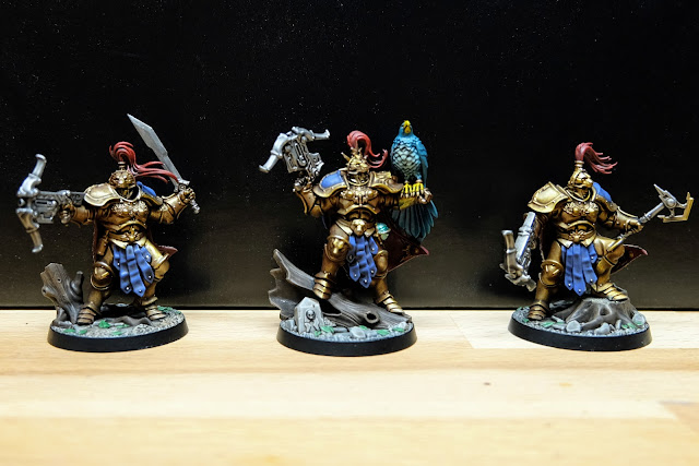 Front view of finished Farstriders