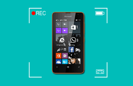 windows phone screen record