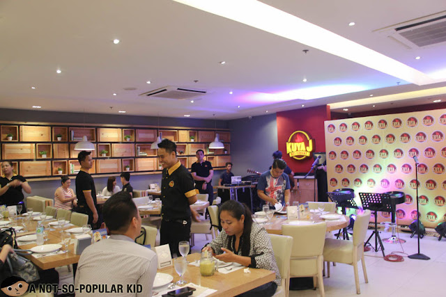 Interior of Kuya J in SM Manila