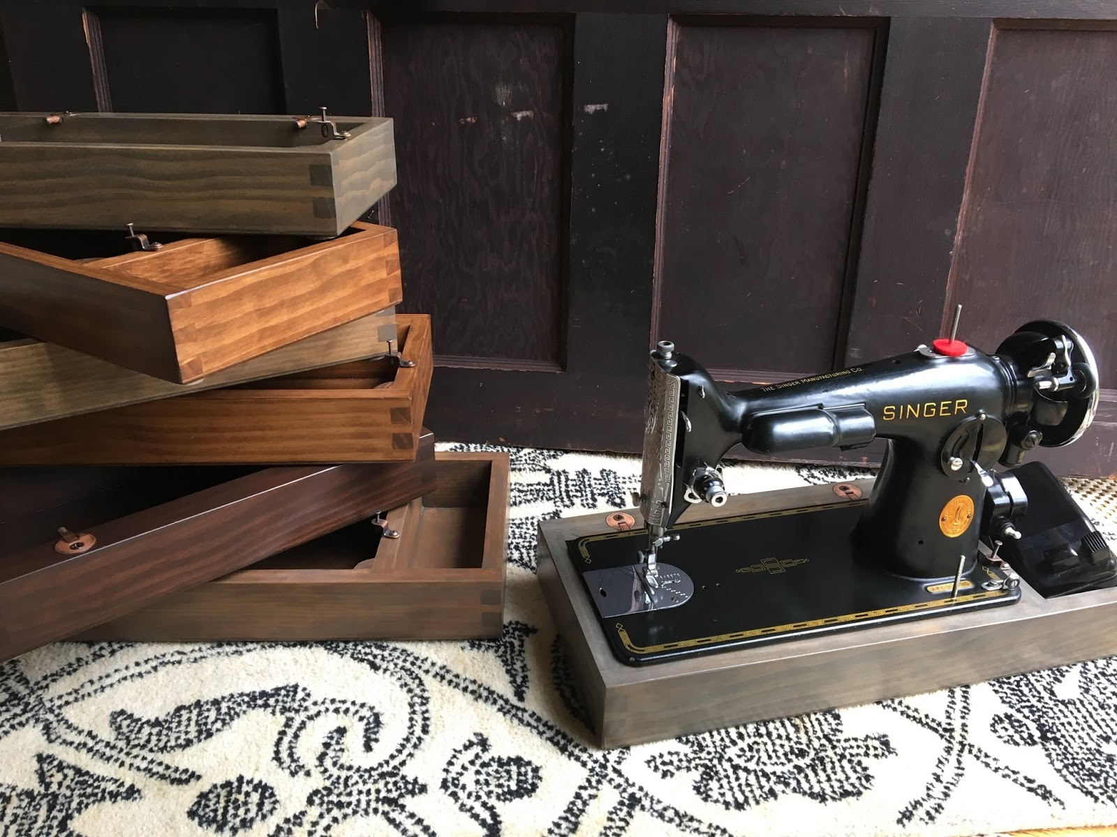 The Project Lady - Singer Sewing Machine Bases for Sale