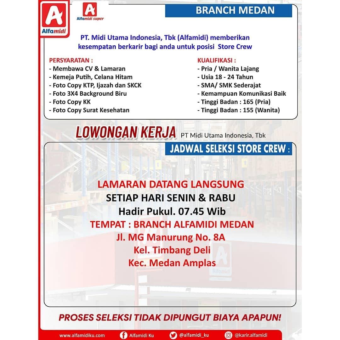 Lowongan Kerja Terbaru Lulusan Sma Di Medan April 2019 Lowongan Kerja Medan Terbaru Tahun 2021