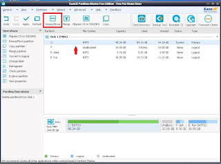 Gambar 11 - Easeus Partition Master Free