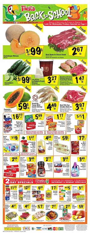 Fiesta Mart Weekly Sale August 7 - 13, 2019