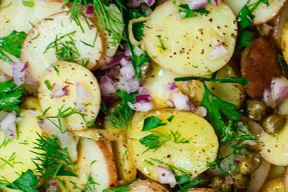 Mediterranean-style Mustard Potato Salad