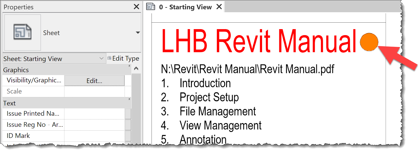 BIM Chapters: Hyperlink from Revit Starting View to Office