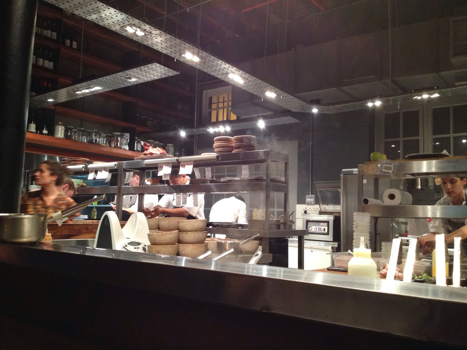 Cape Town - A view of the open kitchen