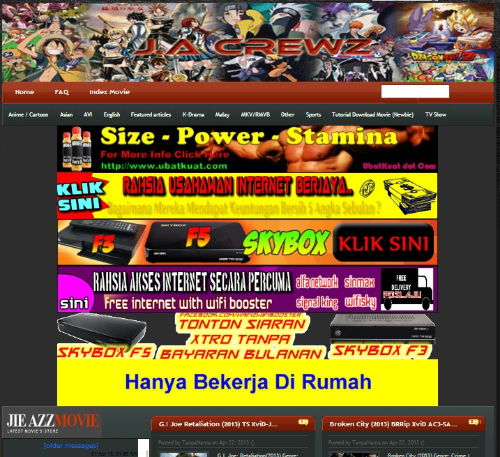 Website Baru Untuk Download Movie Percuma Oh Buletin Media